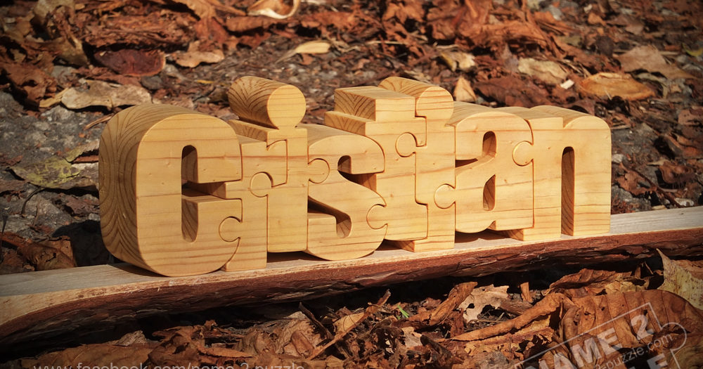 Name Puzzle gifts