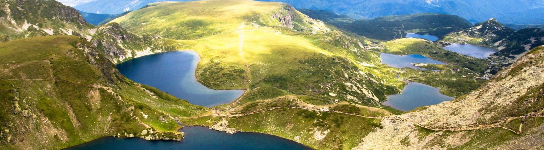 Седемте рилски езера - стокови снимки