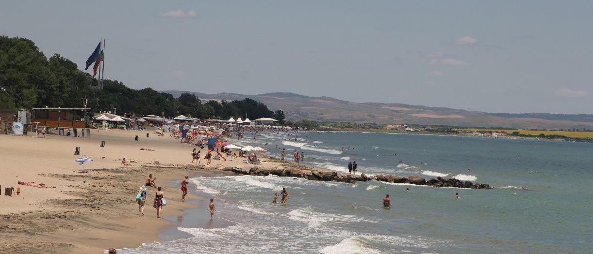 Централен плаж - Бургас