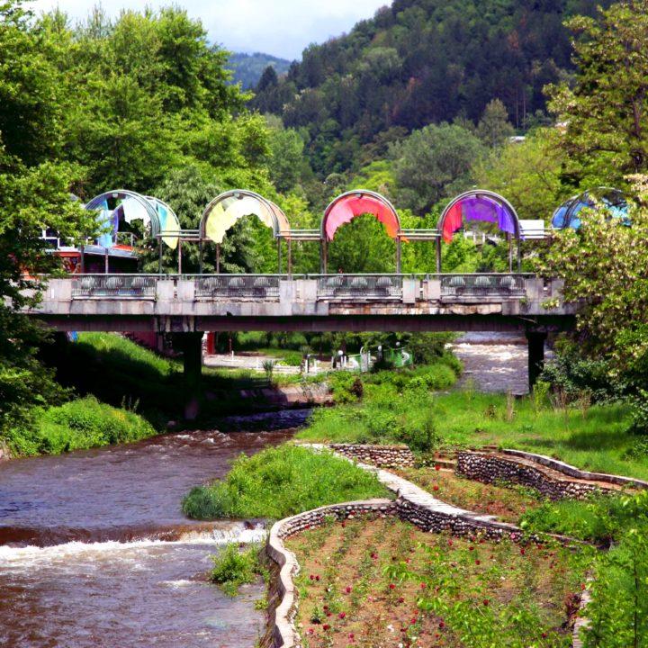 Моста на влюбените в Благоевград