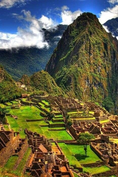 Мачу Пикчу  - едно от чудесата на света